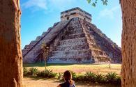 Mayan Pyramid on a Xichen Tour