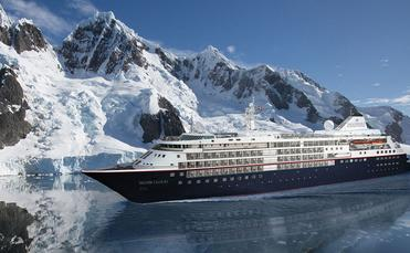 Silver Cloud rendering, Silversea Expeditions