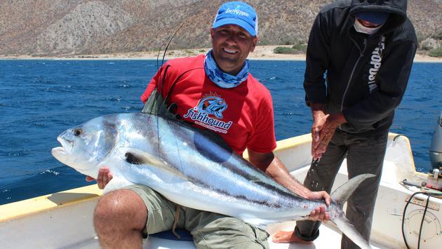 En Baja California Sur se pueden pescar pez vela, atún y dorados, entre otros. (Foto de SETUES)