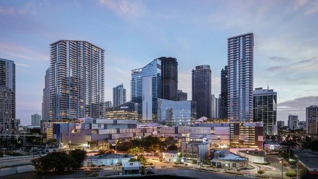 The Brickell City Centre in Miami, Florida