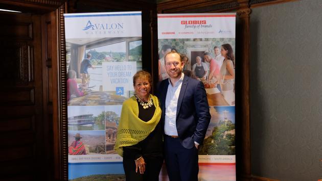 Stephanie Bishop and Chris Jones, Globus family of brands