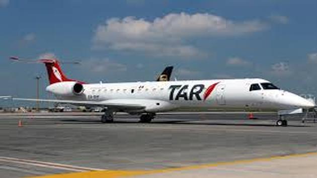 La aerolínea Transportes Aéreos Regionales (TAR)
