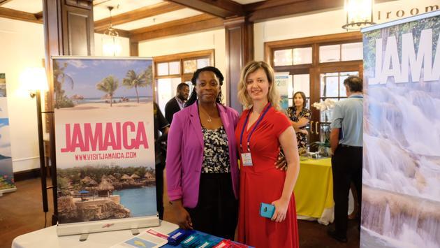 El anuncio de Visita Jamaica en el evento de la Organización del Turismo del Caribe  eñ 22 de agosto de 2019.