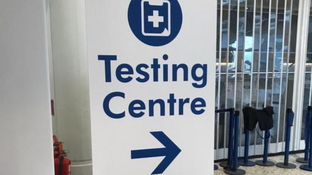 COVID-19 test, England