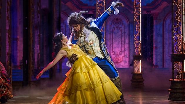 Beauty and the Beast performance aboard Disney Dream