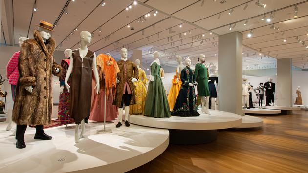 Fashion and Design Arts gallery inside Peabody Essex Museum