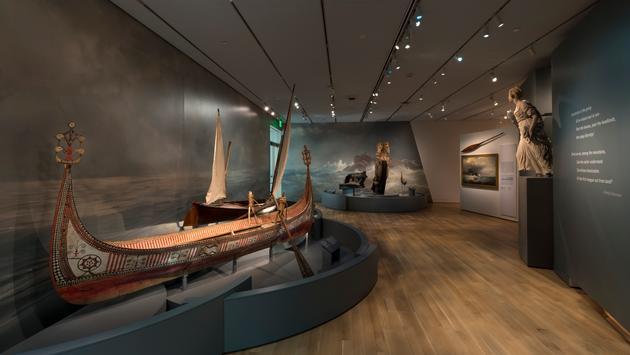 Maritime Arts exhibit gallery at Peabody Essex Museum