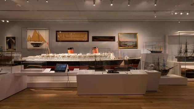 Maritime Arts gallery inside Peabody Essex Museum