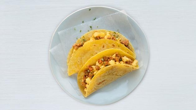 United Airlines' new breakfast taco