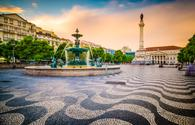 Rossio Square of Lisbon