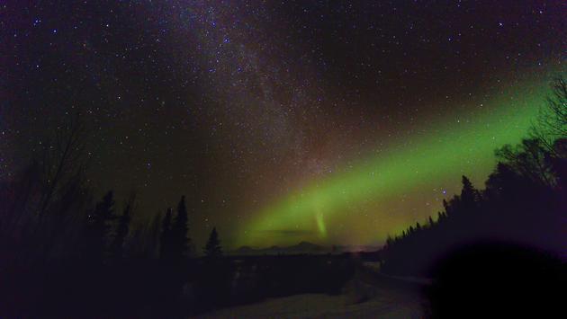 Northern Lights over Denali, Alaska