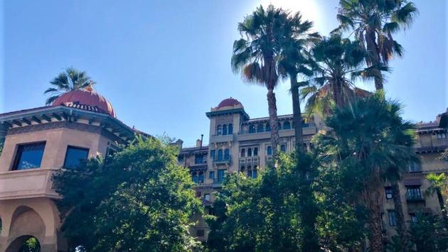Historic Castle Green in Pasadena, California