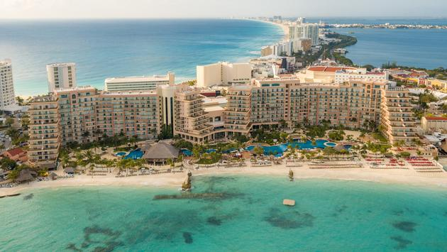 Book at Grand Fiesta Americana Coral Beach Cancun All Inclusive and get up to 60% in savings + kids stay free