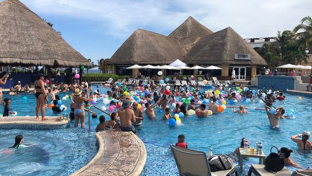 Hard Rock Hotel Riviera Maya pool