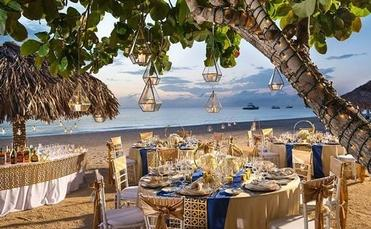 Sandals Wedding Reception