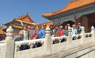 Forbidden City, tours, women, china