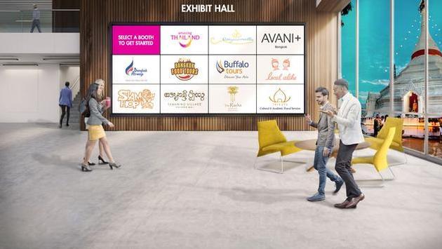 Salón de Exhibición de la Expo Tailandia