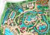 Rendering of Island H2O Live! water park at Margaritaville Resort Orlando
