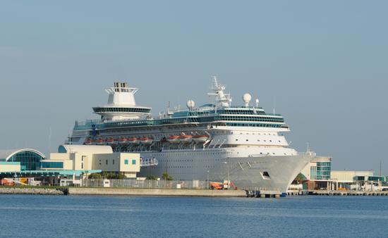 RCI Ship at Port Canaveral