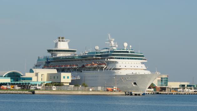 RCI Ship at Port Canaveral