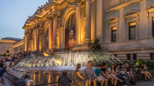 The Metropolitan Museum of Art during the annual Museum Mile Festival