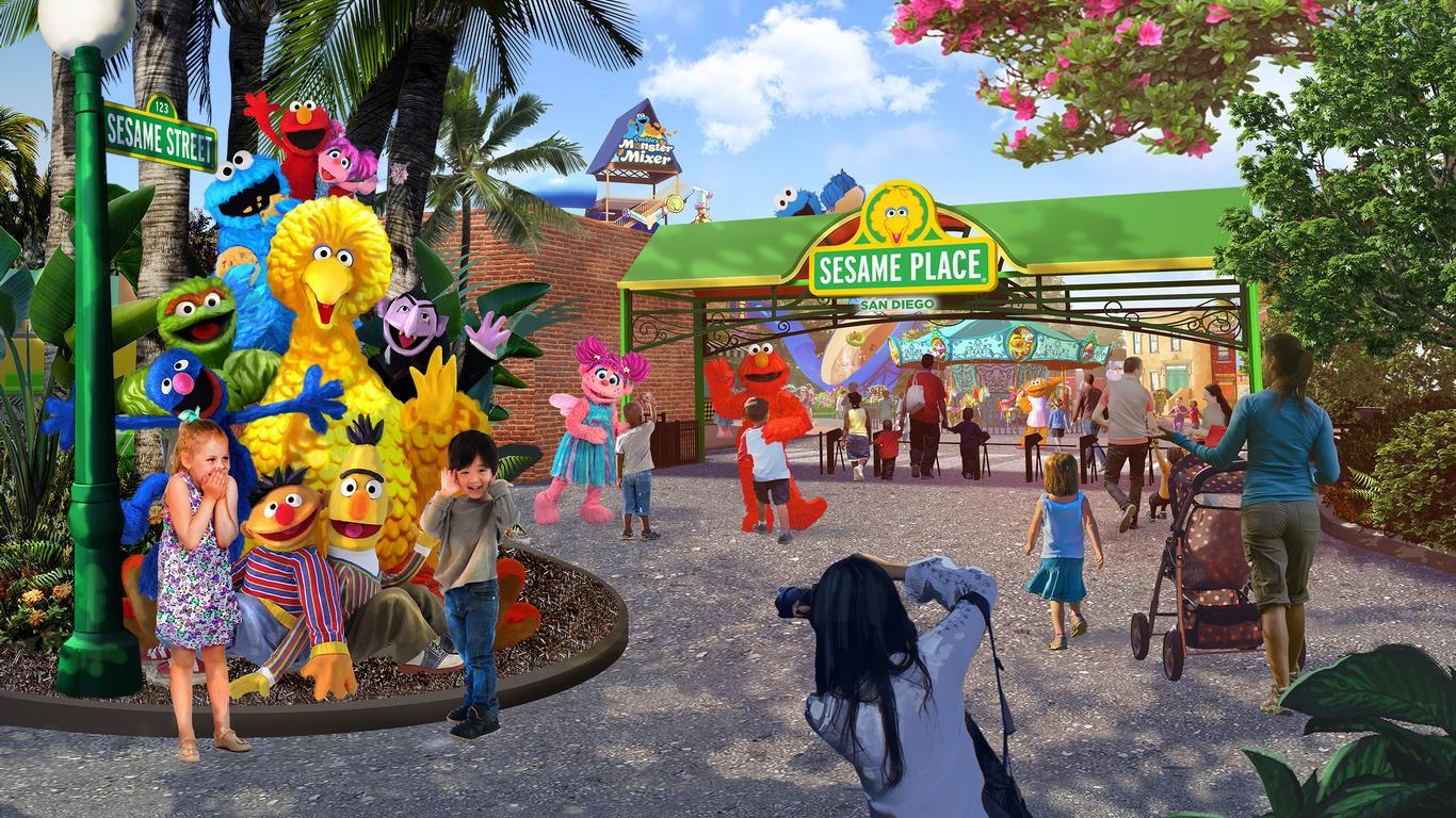 SeaWorld Announces Location for New Sesame Place Theme Park
