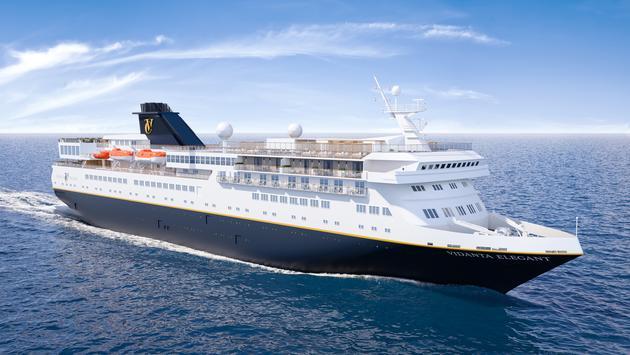 Rendering of Vidanta Cruises' Vidanta Elegant exterior