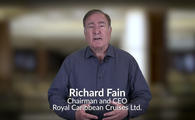 Richard Fain, Chairman and CEO of Royal Caribbean Cruises