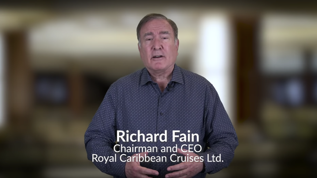 Richard Fain, Chairman and CEO of Royal Caribbean Cruises