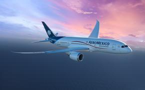 Aeroméxico atenderá algunos vuelos desde la capital del país hacia Cancún y Tijuana con sus aviones Boeing 787 Dreamliner