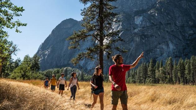 Intrepid Travel Walking Yosemite National Park