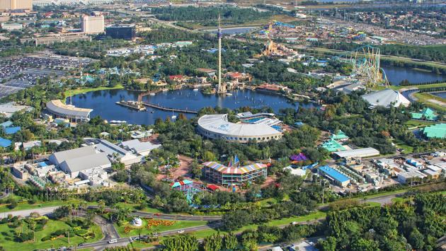 SeaWorld, Orlando, theme park