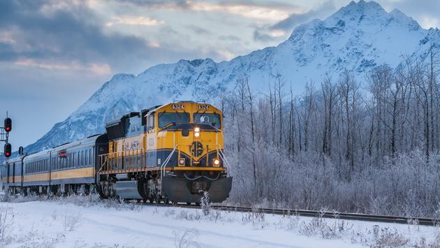 Alaska - Aurora Winter Train