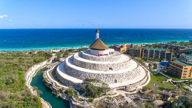 Hotel Xcaret Mexico Wedding Chapel