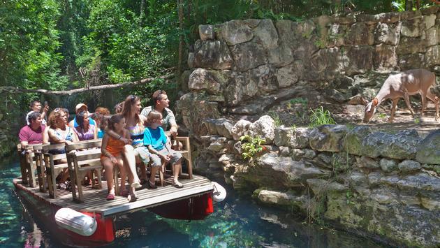Xcaret Park Paradise River