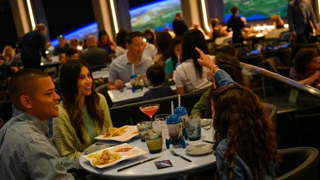 Space 220 Restaurant at EPCOT at Walt Disney World Resort.