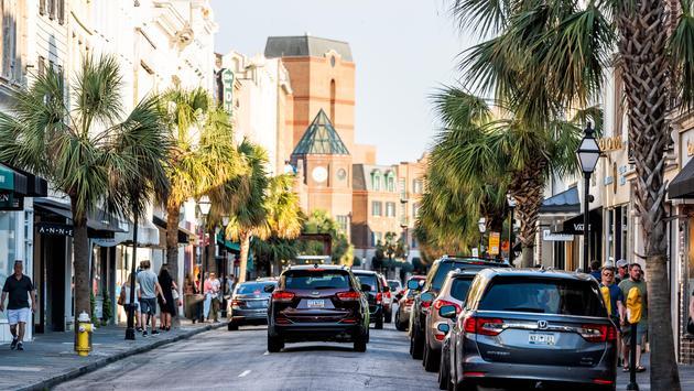 King Street, Charleston South Carolina