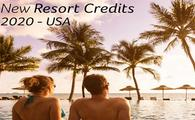 NEW! Resort Credits Offer for 2020