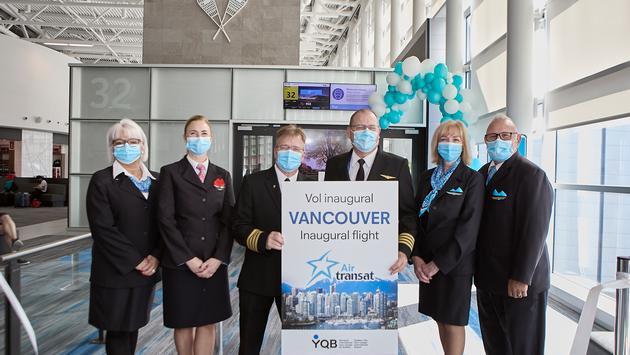 Air Transat Quebec-Vancouver