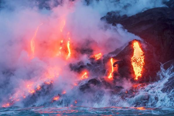 Lava Boat Tours on the Big Island