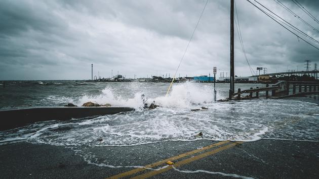 hurricane, storm, rain