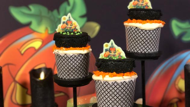 cupcakes, Halloween, Mickey's Not-So-Scary Halloween Party