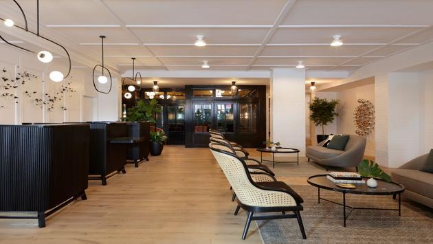 Kimpton Hotel Fontenot lobby