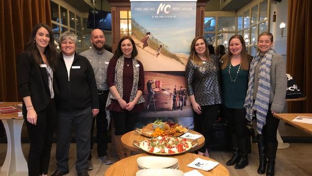 La délégation de la Caroline du Nord à Montréal