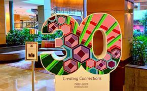 Hyatt Regency Bellevue 30 Year Anniversary Sign In Lobby