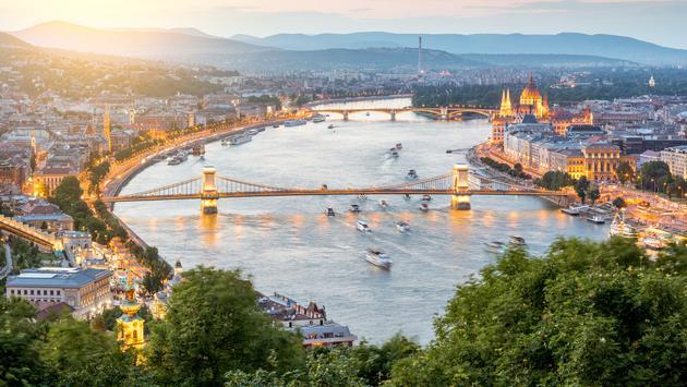 Danube, River, boats
