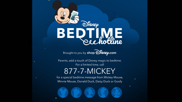 Disney Bedtime Hotline Returns for a Limited Time | TravelPulse