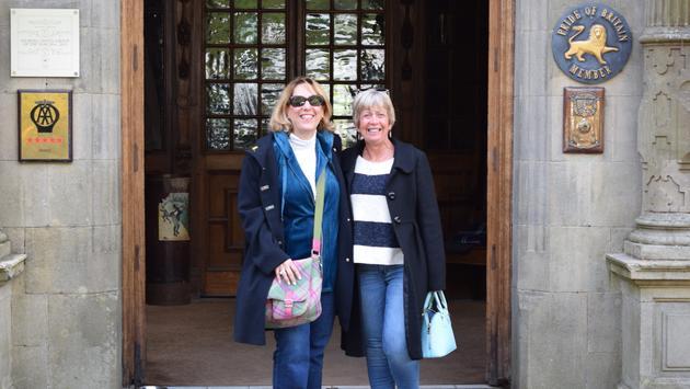 Lynda Falcone et Sally Everton
