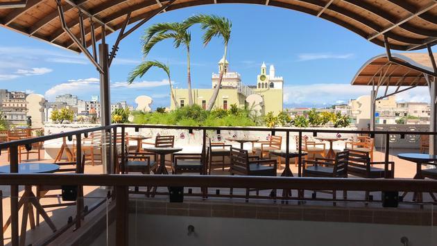 Vue de l'hôtel Palacio Cueto, La Havane