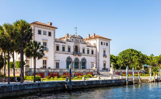 Vizcaya Museum and Gardens in Miami, Florida